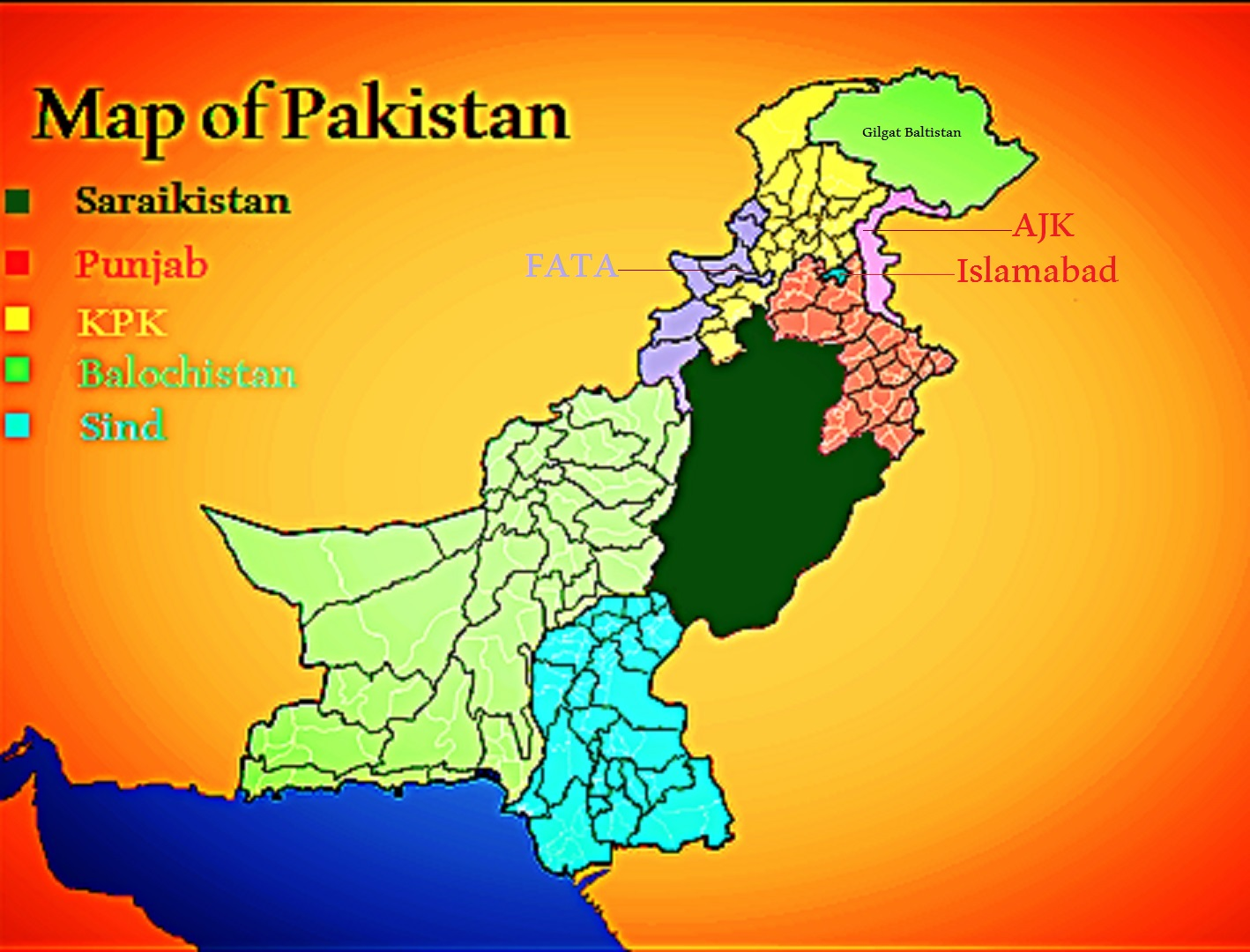 Regions in Pakistan